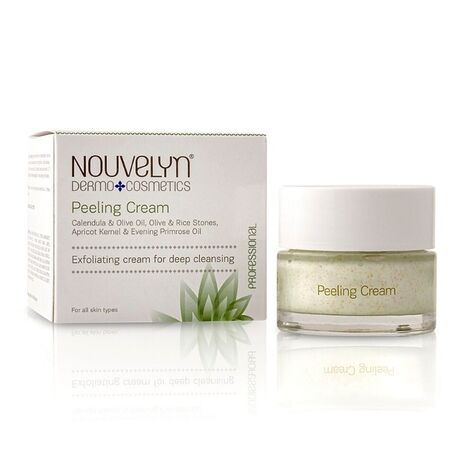nouvelyn Peeling Cream with Calendula & Olive Oil